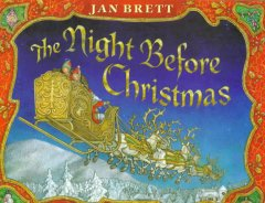 The night before Christmas Book cover