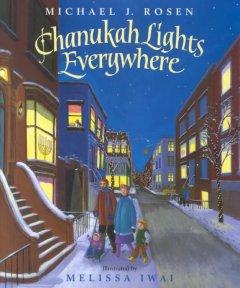 Chanukah lights everywhere Book cover