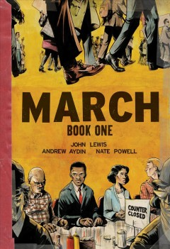 March. Book cover