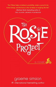 The Rosie project : a novel Book cover