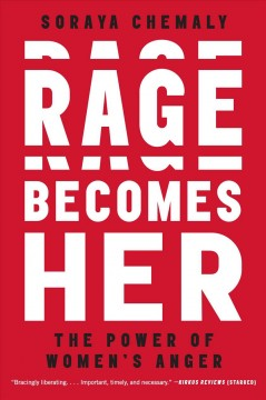 Rage becomes her : the power of women's anger Book cover