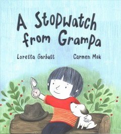 A stopwatch from Grampa Book cover
