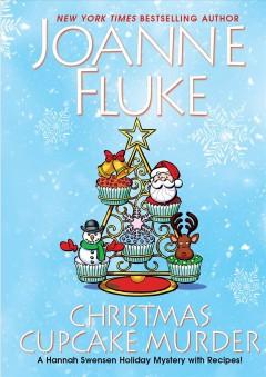 Christmas cupcake murder Book cover