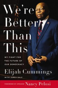 We're better than this : my fight for the future of our democracy Book cover