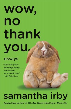 Wow, no thank you : essays Book cover
