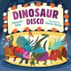 Dinosaur disco Book cover
