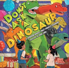 Don't ask a dinosaur Book cover
