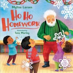 Ho ho homework Book cover