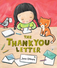 The thank you letter Book cover