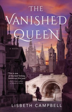 The vanished queen Book cover