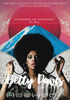 Betty Davis : they say I'm different Book cover