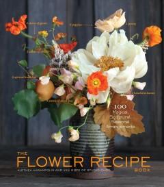 The flower recipe book Book cover