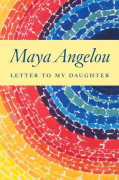 Letter to my daughter Book cover