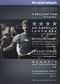 The social network Book cover